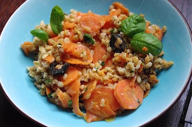 Epeautre aux carottes