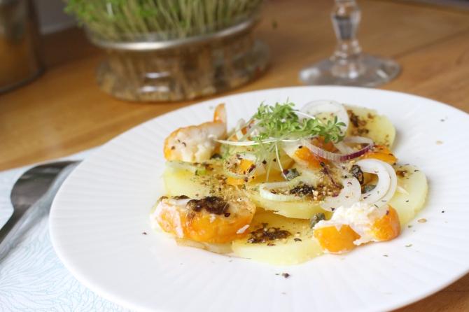 Pommes de terre, haddock