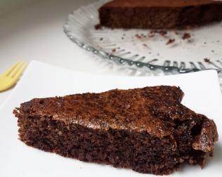 Gâteaux moelleux noix et chocolat, sans beurre et sans farine
