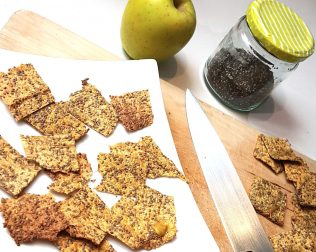 crackers pomme chia